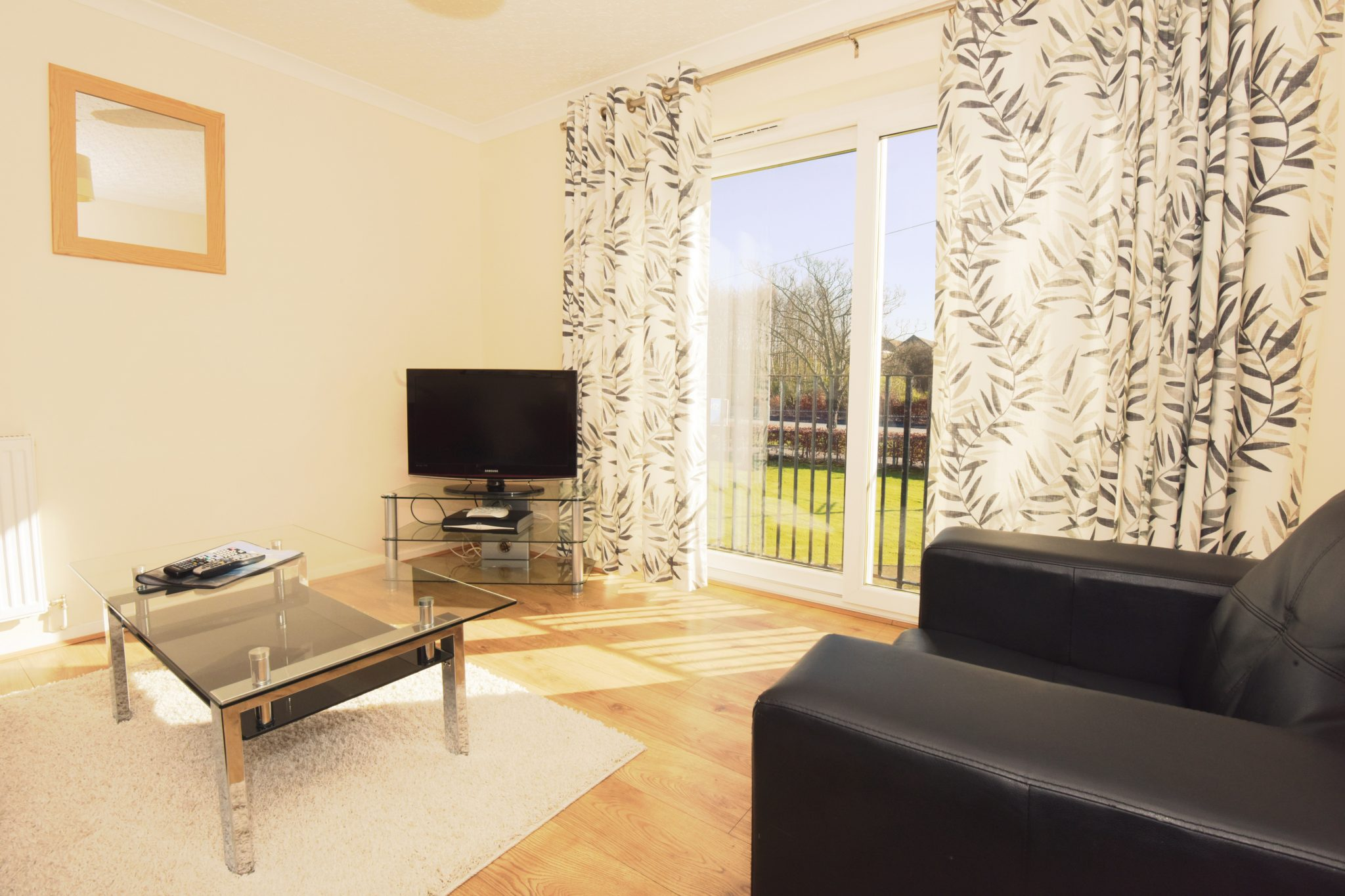 lounge in serviced apartment